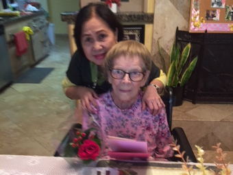 Mother's Day 2018 at Newport Heights Manor in Costa Mesa.